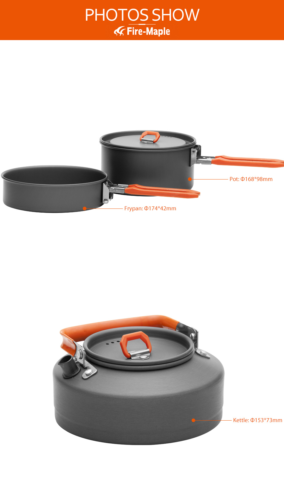 Livre Panelas Chaleira Caminhadas Cooking Frypan Pot
