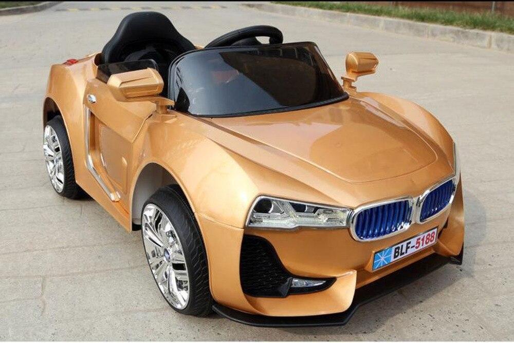 Veículo de quatro Rodas de Controle Remoto Carro Elétrico para Crianças Caçoa 12 V Montar em Bateria Elétrica RC Carros Licenciados de Mergulho poder MP3