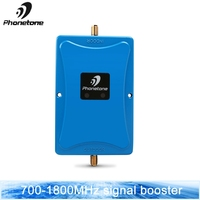 DCS 1800MHZ GSM 1800 2g 4g LTE 700MHz Cell Phone Signal Repeater Booster Mobile Phone Signal Amplifier + Indoor Outdoor Antennas
