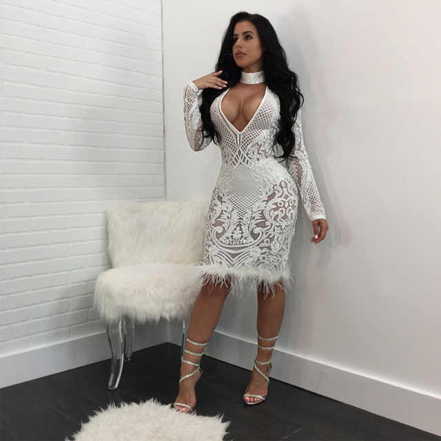 Vestidos mujer blanco