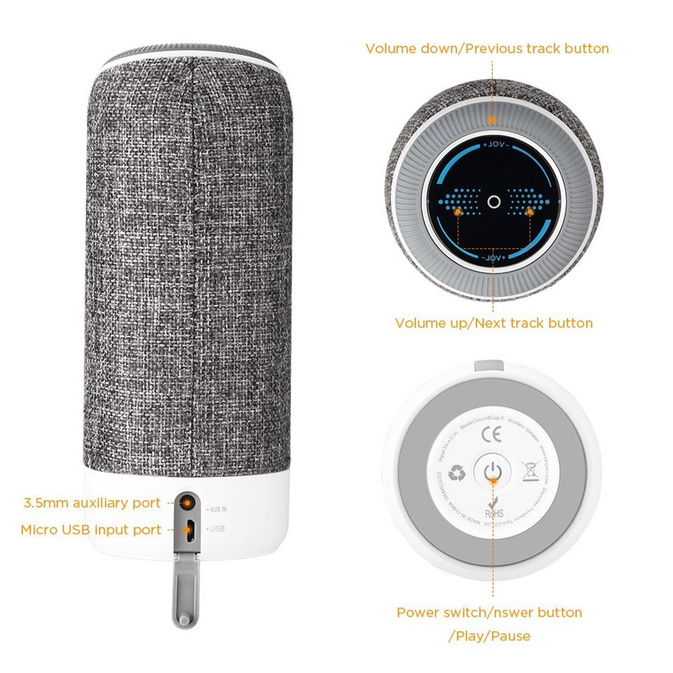 Najboljši brezžični 4,1 Bluetooth zvočnik vodoodporen prenosni - Prenosni avdio in video - Fotografija 6