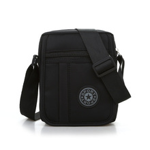 Модные мини-мужские сумки для покупок! Универсальные мужские однотонные маленькие сумки через плечо Универсальные однотонные повседневные нейлоновые сумки с клапаном