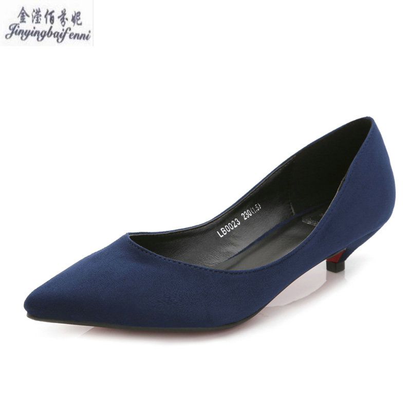 8faad84960d5 Buy navy blue shoes for women and get free shipping on AliExpress.com
