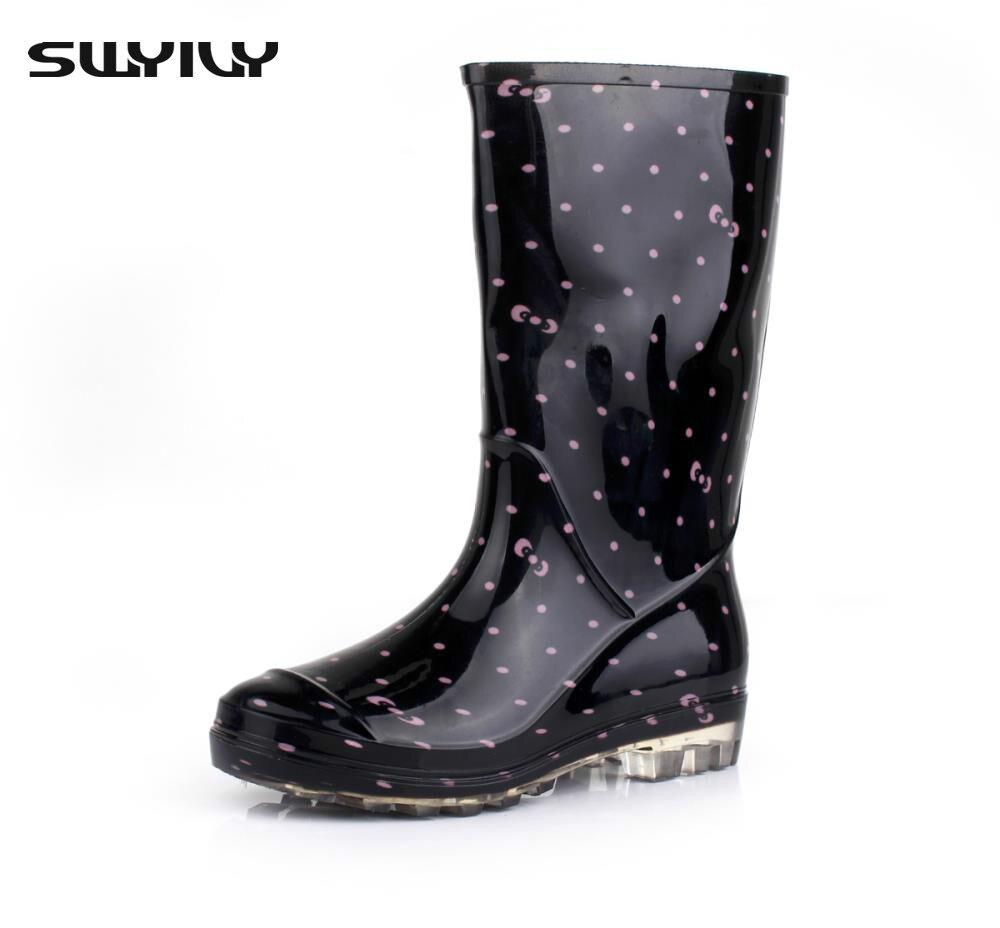 Popular Pink Polka Dot Rain Boots-Buy Cheap Pink Polka Dot Rain ...