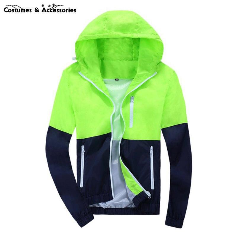 2016 spring new mens jacket Men Fashion Thin Windbreaker jacket Zipper Coats Outwear mens clothing