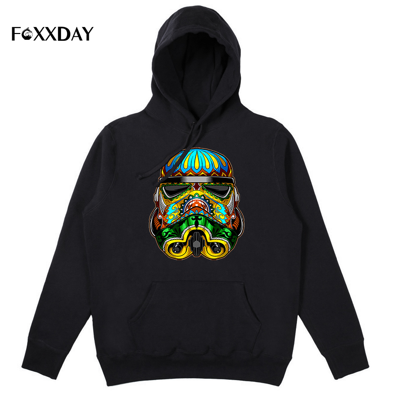 Stormtrooper printed hoodies funny men's hoody Hipster O-neck cool star wars hoodie sweatshirts colours Hip-Hop free shipping