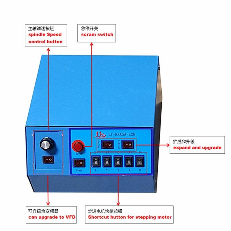 3020Z-500W 3axis cnc machine wood (12)