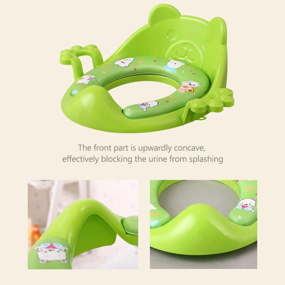 Детское сиденье для унитаза пластиковое портативное детское простое безопасное Potty Potties тренировочное кресло для девочек и мальчиков кроссовки горшок детское сиденье для унитаза