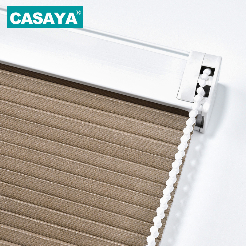 CASAYA Cellular Shades Noise Reduction Privacy fabric Window Blind High Quality Honeycomb Blinds 39 W X39
