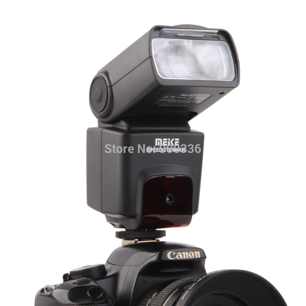 Meike MK-430 TTL Flash Speedlite suit for Canon 430EX II EOS 5D III 6D 60D 600D 650D meike mk 950 mk950 e ttl flash speedlite for canon eos 5d ii 6d 7d 50d 60d 70d 550d 600d 650d 700d 580ex 430ex