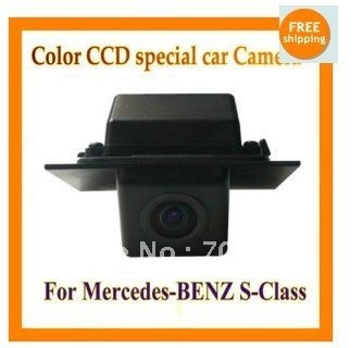 Color CCD Del Revés Del Coche de Visión Trasera Cámara de reserva del estacionamiento del rearview Para Mercedes Benz Clase GLK