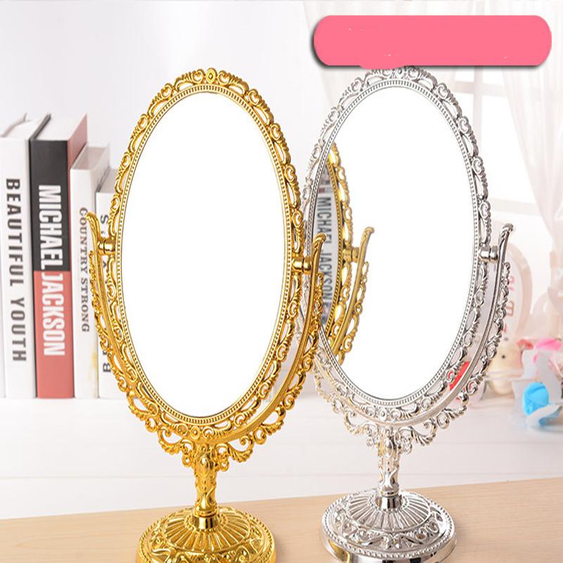moda creativa espejo giratorio de nuevo estilo de lujo clsico espejo de maquillaje mujeres