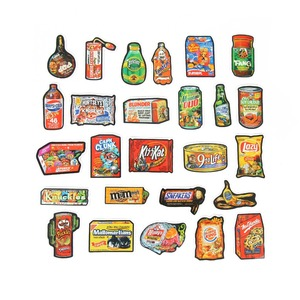 Image 5 - TD ZW 50Pcs/Lot Funny Brand Snacks And Drinks Graffiti Stickers For Laptop Car Pad Luggage Phone Bicycle Decal Toy Sticker