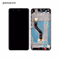 JIANGLUN For Huawei P10 Lite LCD Display Touch Screen Digitizer Assembly with Frame