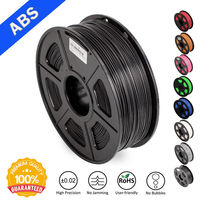 SUNLU 3D Filament ABS 3D Printer Filament 1.75mm 1KG Spool(2.2lbs) 3D Printing Filament Dimensional Accuracy +/ 0.02mm