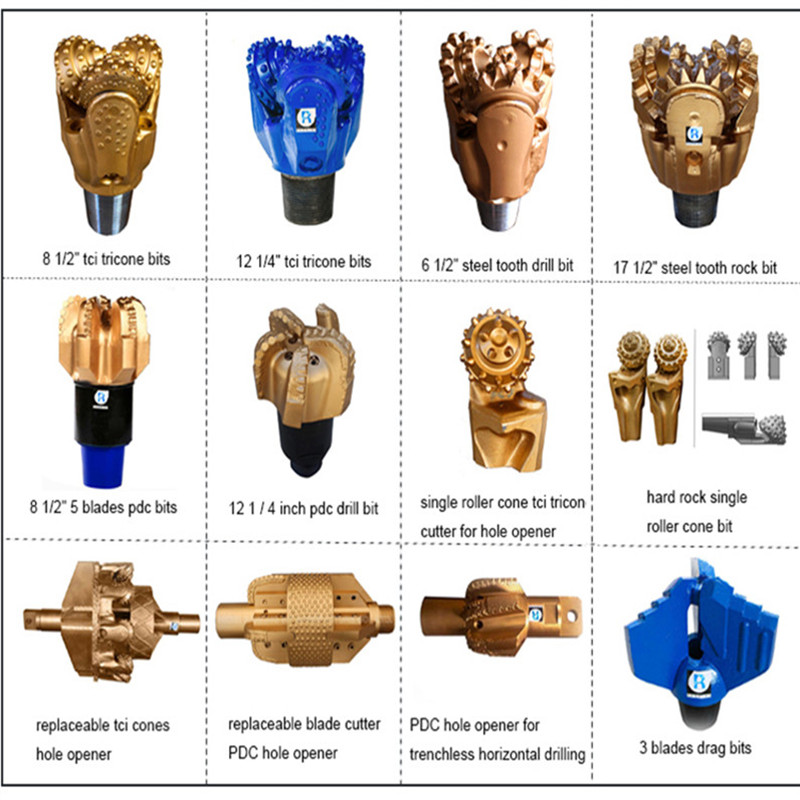 цена на Factory Direct Sale Electric Hammer PDC Drill bit for Oil Field Good Quality on Hot Sale