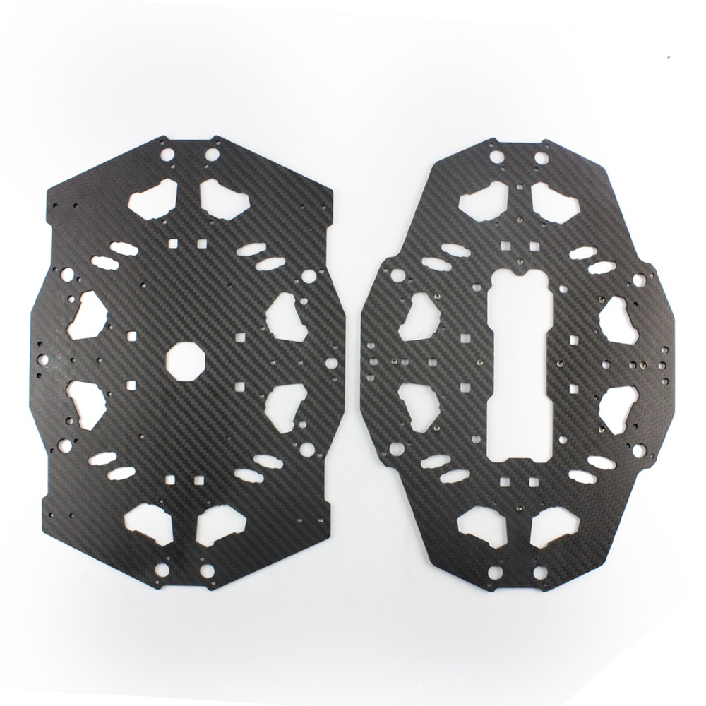 Tarot T18 Aerial Photography Plant Protection UAV Carbon Fiber Cover Plate Board TL18T03 F08159Tarot T18 Aerial Photography Plant Protection UAV Carbon Fiber Cover Plate Board TL18T03 F08159
