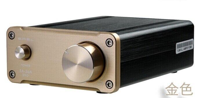 SMSL SA-36A Pro 25W*2 TDA7492PE Digital HIFI Power Amplifier GOLD радиоприемник 25 hifi 25w