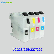 Empty For Brother Refillable Ink cartridge LC223 LC225 LC227 LC229 dcpj4120dw mfcj4420dw j4620dw j4625dw 5620dw j5625dw j5720dw