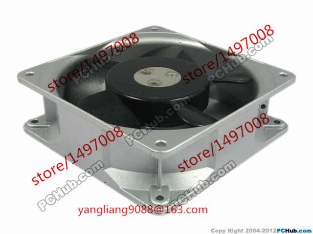 Emacro MU1238A-11B AC 100V 14W 120x120x38mm Server Square  Fan free shipping for orix mu1238a 41b ac 200v 14 13w 2 pin 120x120x38mm server square fan