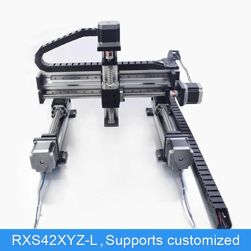 XYZ Automatic Gantry Robot CNC Linear Module Guide Ball