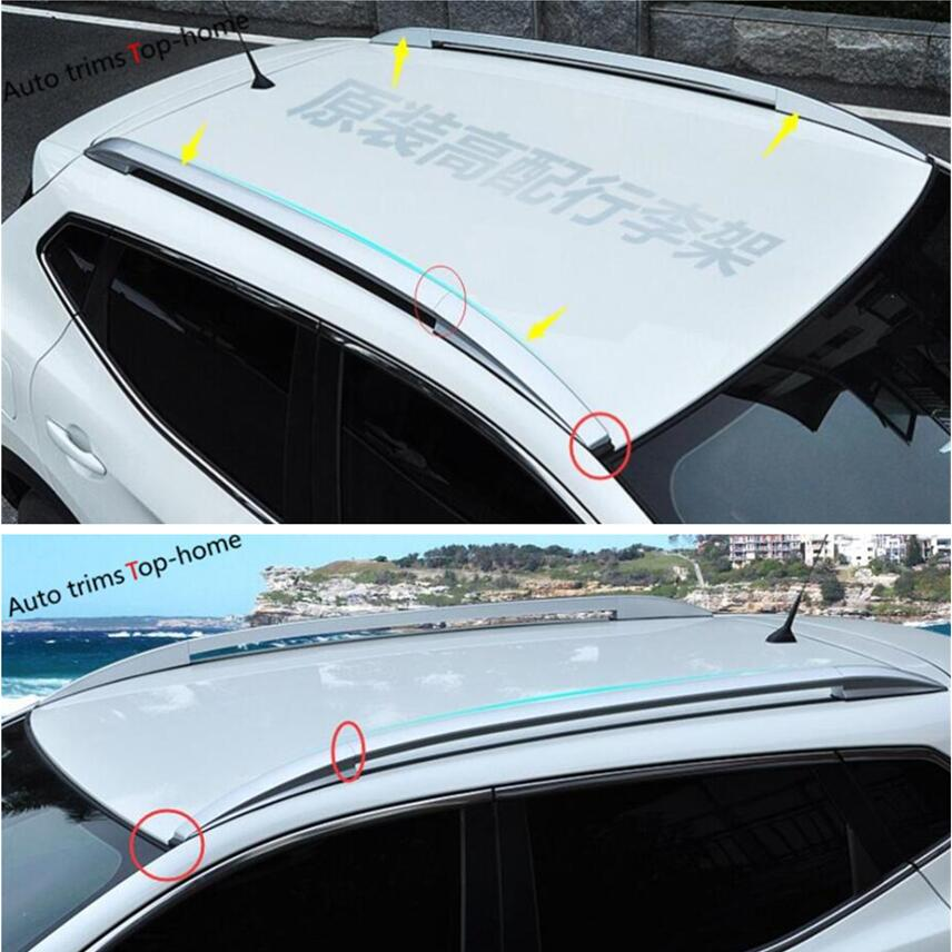 Yimaautotrims Roof Rack Side Rails Bars Luggage Carrier For Nissan Qashqai J11 2014 - 2016 Silver! new for nissan qashqai j11 2014 2015 2016 silver roof rack side rails bars luggage carrier trim