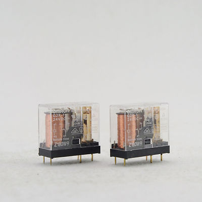 цена на 2 x 110/220VAC 1Z Coil Power Relay JQX-14FC-1A 5Pins SPDT