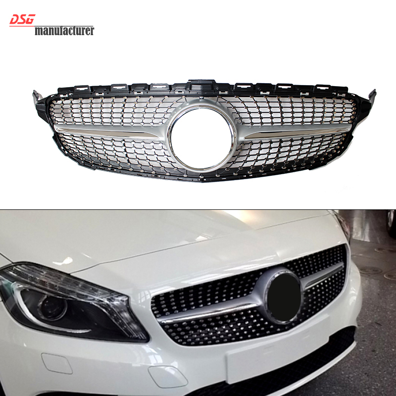 Buy mercedes w205 diamonds grill for benz for Mercedes benz custom grills