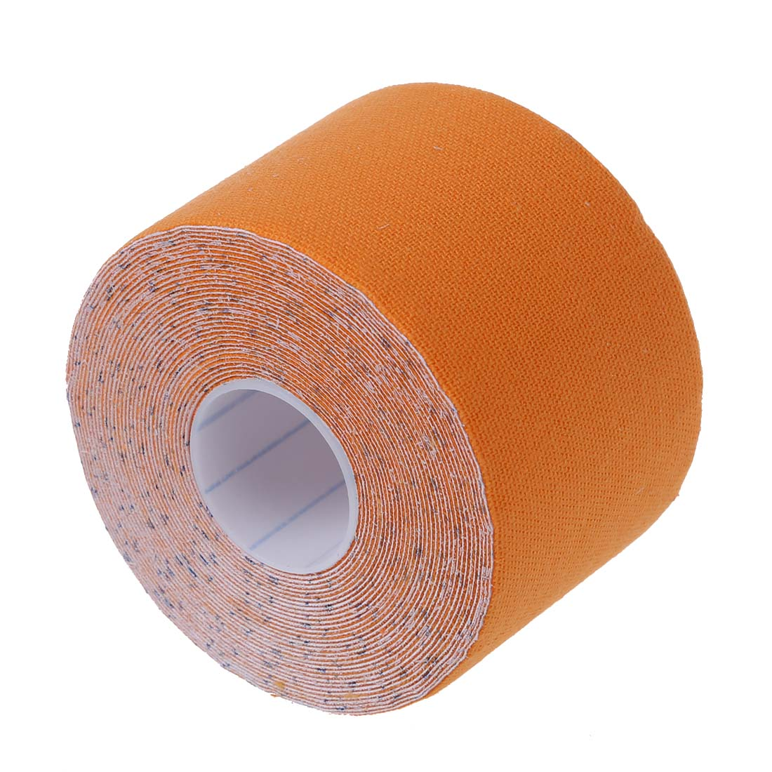 5 компл. продажа 1 рулон Спортивной Кинезиологии мышцы уход Фитнес спортивные здоровья ленты 5 м * 5 см-оранжевый