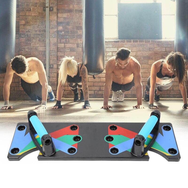 9 en 1 muscle pectoral entraînement abdominal abdos exercice musculaire complet entraînement de fitness gym à domicile équipement de fitness