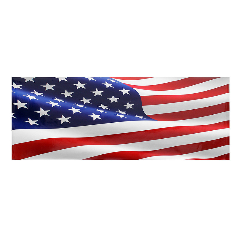 Image 3 - high quality Wave American Flag Truck Tailgate Vinyl Graphic Decal Sticker Wrap-in Car Stickers from Automobiles & Motorcycles