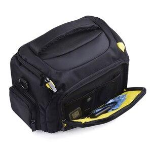 Image 5 - Wennew DSLR كاميرا حقيبة حقيبة الكتف مقاوم للماء لنيكون كانون بنتاكس سوني أوليمبوس غطاء التصوير صور