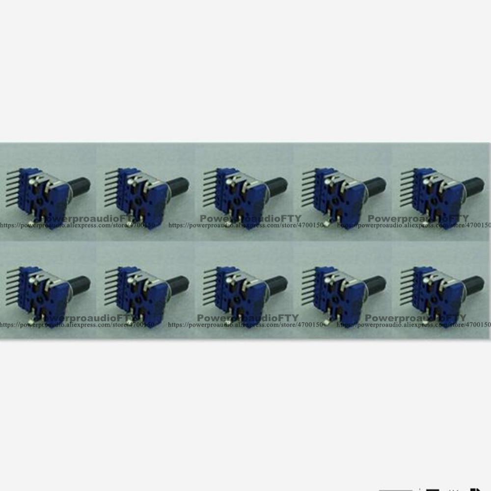 10 Stück Ebene Tiefe Rotary Dcs1060 7 Pins Für Pioneer Djm-600 Djm-600-s Mit Dwg1541 VerrüCkter Preis