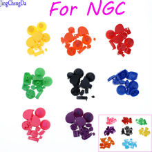 Комплект цветных кнопок jcd y x a b для контроллера gamecube