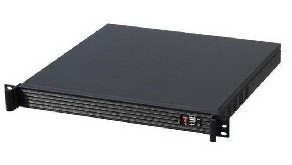 Computer server case 1U420L aluminum alloy panel industrial chassis monitor Industrial control Aluminum alloy panel