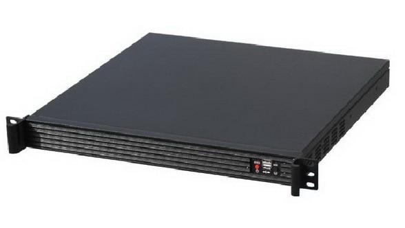 Computer server case 1U420L aluminum alloy panel industrial chassis monitor Industrial control Aluminum alloy panel