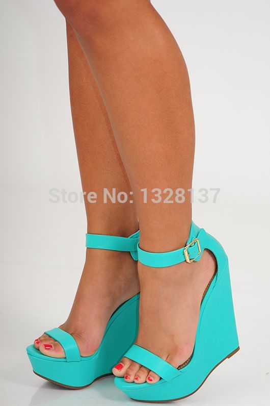 Compare Prices on Light Blue Wedge Heel- Online Shopping/Buy Low