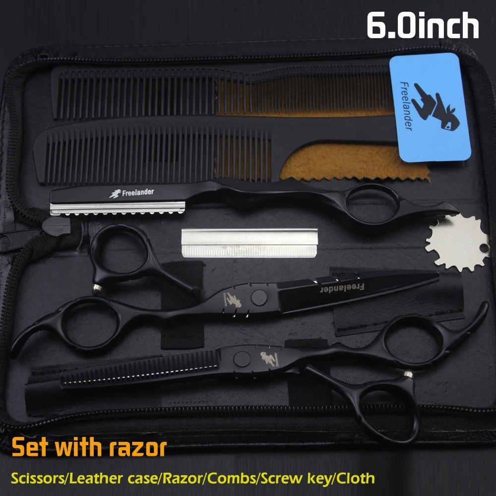 Freelander Japan Profissional Hairdressing Scissors Set Barber Scissors Tijeras Pelo High Quality Salon5.5 /6inch