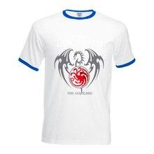 fire & blood hit contrast collar t shirts  men's brand clothing 2017 summer short sleeve tops t-shirt