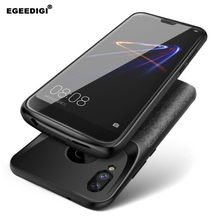 Egeedigi External Power Bank Charging Back Cover For Huawei Nova3e Honor 8X 8 9 10 10 P20 lite shockproof Battery Charger Case(China)