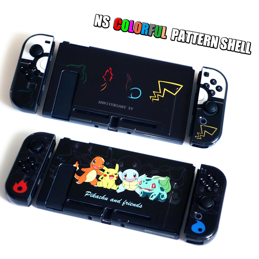 Nintend Switch NS Pattern Case Nintendos Switch Protective Hard Cover Shell Skin for Nintendo Switch Console 4