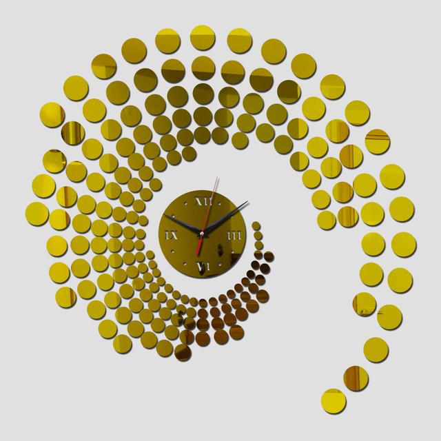 2017 Limited Special Offer Quartz Sale Home Decor Water Needle Modern Acrylic Mirror Wall Clock Stickers Wallpaper Diy Clocks