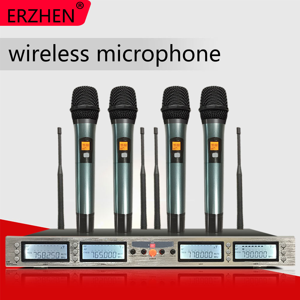 Wireless microphone, 3000GT1 professional, optional frequency UHF KTV special session, turn head to wear microphone system