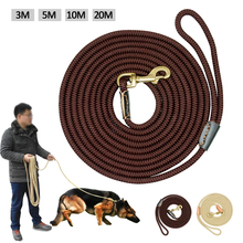Durable Dog Tracking Leash Nylon Long Leads Rope Pet Training Walking Leashes