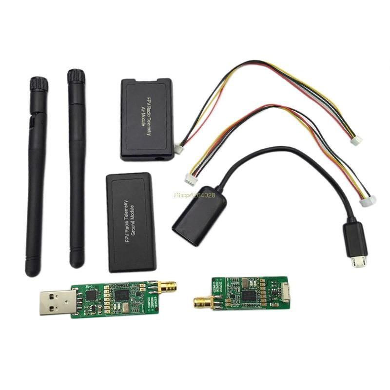 цена на 2018 3DR Radio Wireless Telemetry 433Mhz Module USB Kit For APM2.6 APM2.8 Pixhawk PX4 AUG3_32