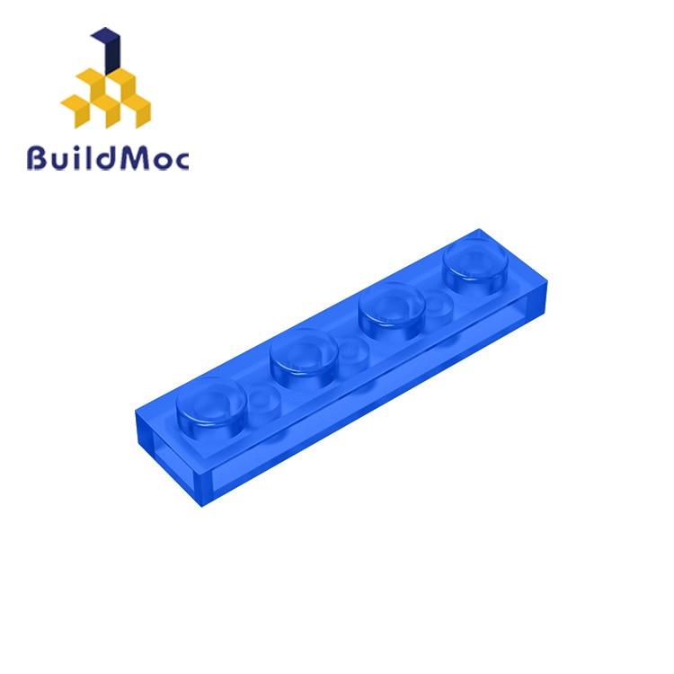 BuildMOC Compatible Assembles Particles  3710 1x4 For Building Blocks Parts DIY LOGO Educational Creative gift Toys|Blocks| |  - title=