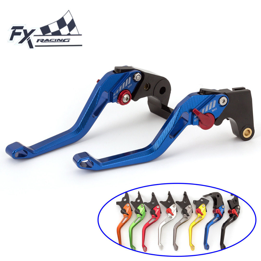 FX CNC Aluminum New Adjustable 3D Rhombus Motorcycle Brake Clutch Lever For Kawasaki ZZR ZX1400 SE Version 2016 - 2017 Motorbike cnc pivot brake clutch lever for kawasaki kx65 kx85 kx125 kx250 kx250f new