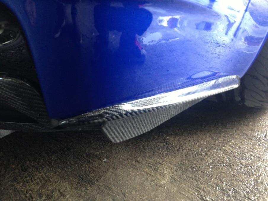 Carbon Fiber Rear Bumper Extension Designed For BMW E92 E93 M3 Of The GRD Style