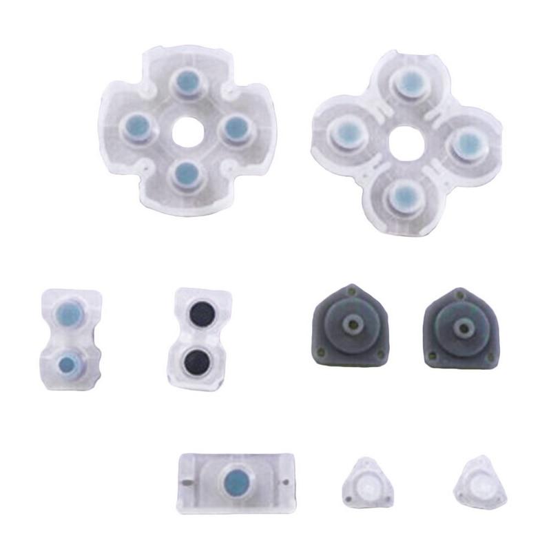 Для ps4 контроллер joy con 1 комплект силиконовый резиновый чувствительный проводящий кнопочный коврик комплект совместимый чувствительный