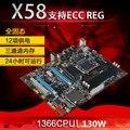Новый оригинальный материнская плата X58 sli pci-e * 2 Extreme платы LGA 1366 DDR3 24 ГБ ATX mainboard для X5570 X5650 W5590 X5670 L5520 ПРОЦЕССОР